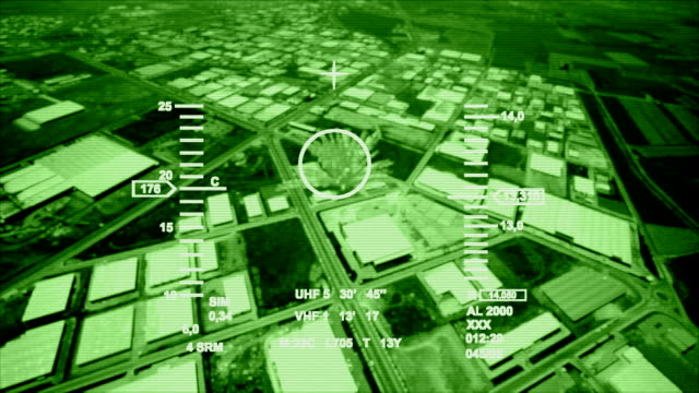 night vision air strike video