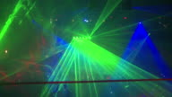 Nightclub Crowd with Laser Lights video