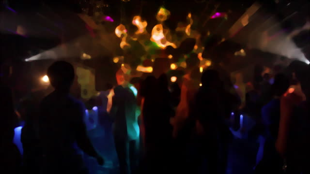 Nightclub dancers video