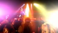 Nightclub DJ entertainment scene video