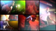 Nightlife party atmosphere video