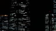 Nightscape of illumination at Minato Mirai 21. video