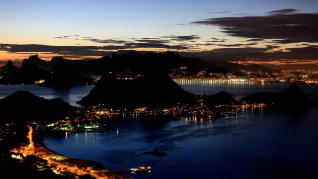 Niteroi Parque da Cidade Time Lapse Rio de Janeiro video