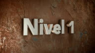 Nivel 1 3d title video