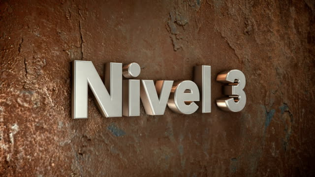 Nivel 3 3d title video
