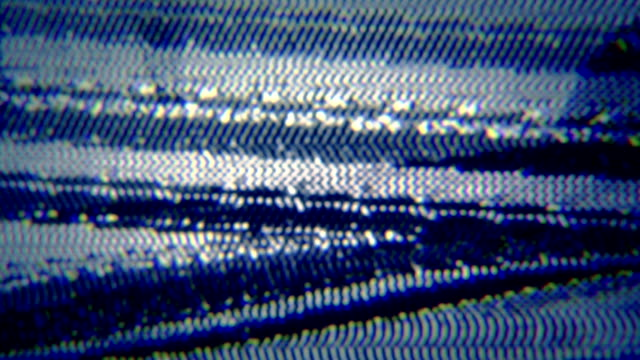 Noise on TV screen. video