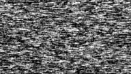VHS noise video