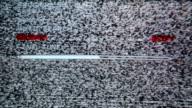 TV noise video