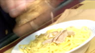 Noodles with truffles video