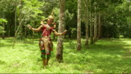 Nora dance in the forest video