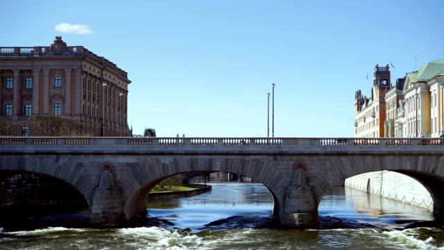 Norrbro Bridge in Stockholm video