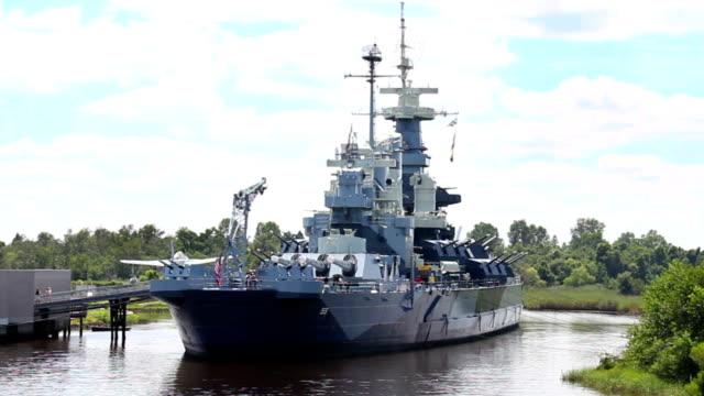 USS North Carolina video