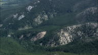 North Edge Of Custer National Forest  - Aerial View - Montana, Carbon County, United States video