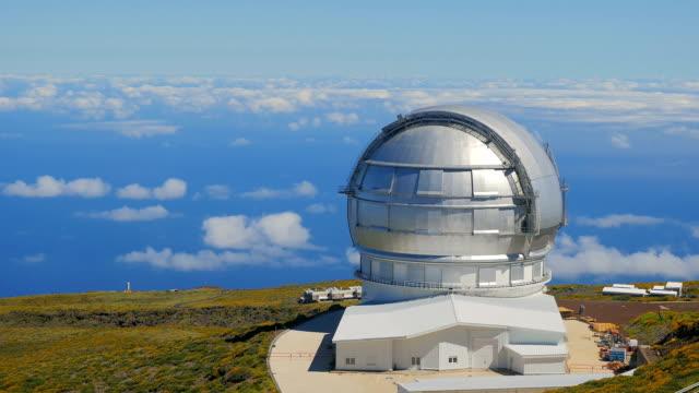 LA PALMA -North Optical Telescope- timelapse video