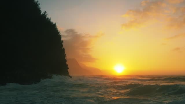 North Shore Kauai, Na Pali Coast, Ke'e Beach video