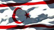 Northern Cyprus Flag video