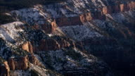 Northern Edge Of Grand Canyon  - Aerial View - Arizona,  Coconino County,  United States video