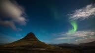 Northern Light at Kirkjufell - Iceland video