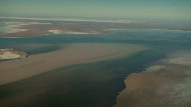 Northern Territory Outback Flood Aerial video