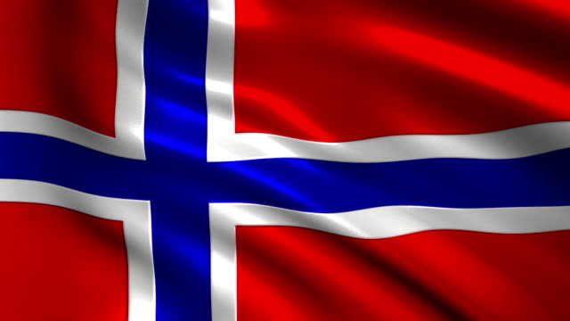 Norway charming flag video