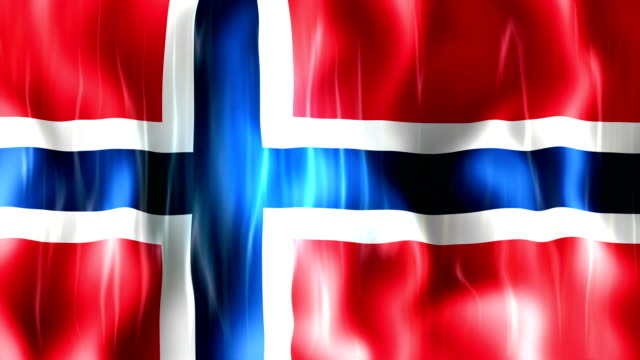 Norway Flag Animation video