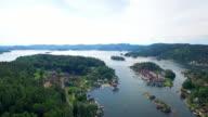 Norwegian fjords video
