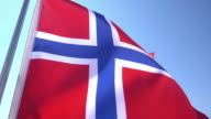 Norwegian Flag video