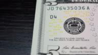 Note five dollars video