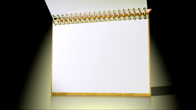 note pad video