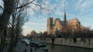 Notre Dame Cathedral Paris. video