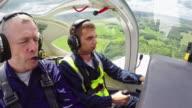 Novice Flyer Practicing Aviating video