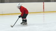 Novice Forward Preventing Goal video