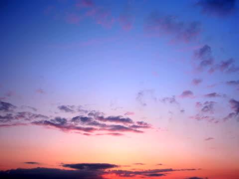NTSC:Sunset Clouds video