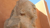 Nubian Statue in Sudan video