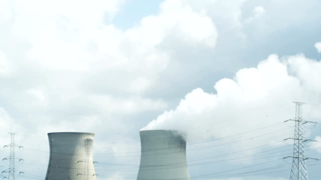 nuclear power plant (1080p) video