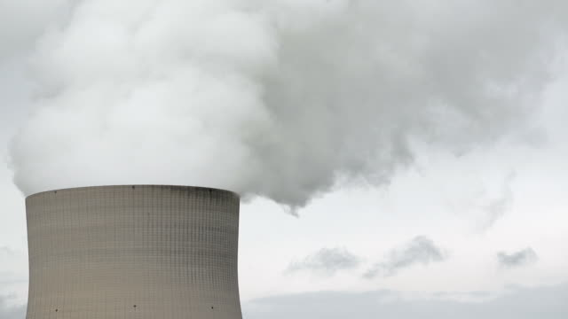 Nuclear Power Station Cooling Tower video