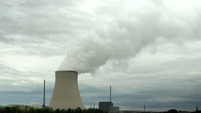 HD Nuclear Power Station Time Lapse (4:2:2) video