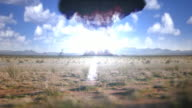 Nuclear weapon detonates video