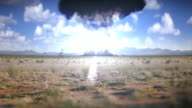 Nuclear weapon explosion video