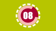 numbers countdown from 10 to 1, motion graphics animation, best use in presentation video