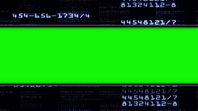 Numbers Technology Door Gate and Green Screen Monitor video