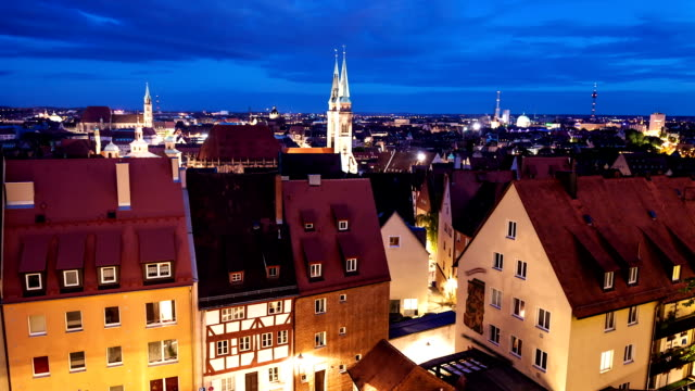 Nuremberg by night video