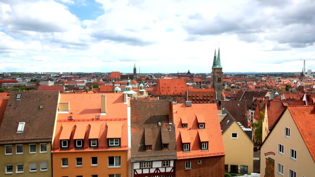 Nuremberg Skyline video