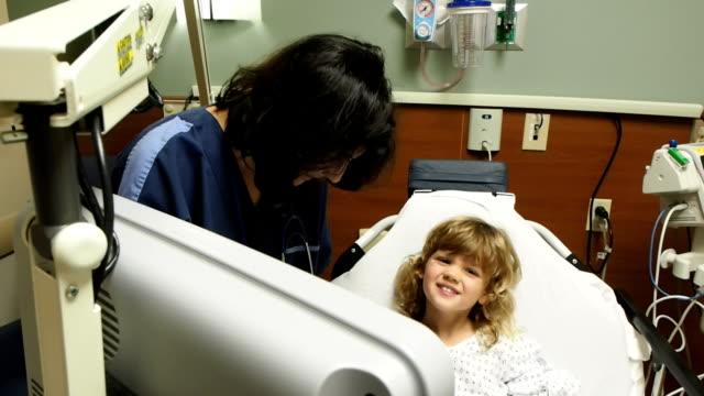 Nurse Working With Child video