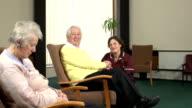 Nursing Care Home - assisting elderly patient video