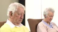 Nursing Care Home - Elderly people sleeping video