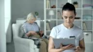 Nursing Home Worker video