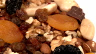 Nuts, dried fruit video