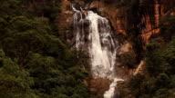 Nuwara Eliya waterfall. video