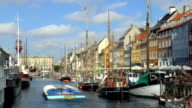 Nyhavn - Copenhagen, Denmark video